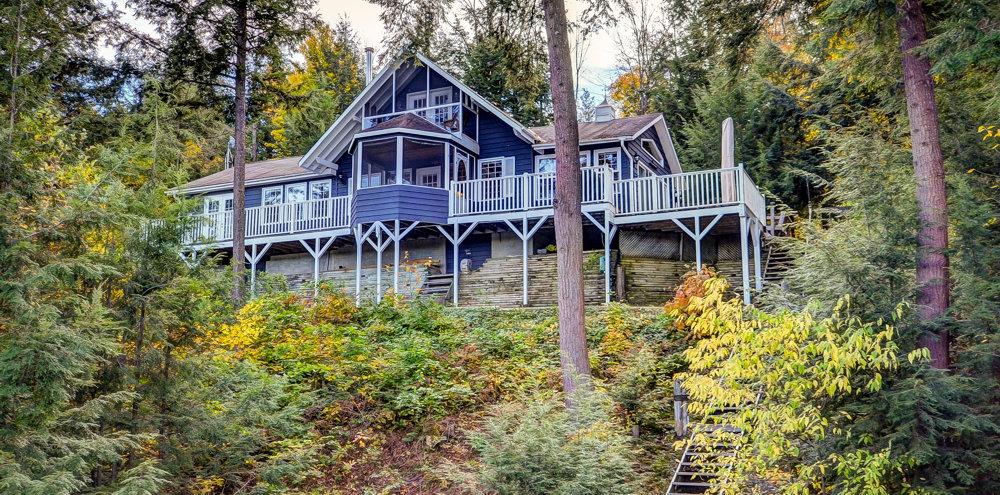 Lake Rosseau home